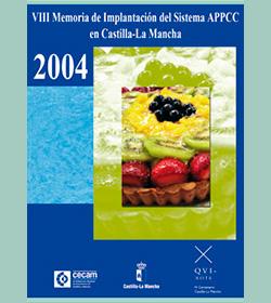 VIII Memoria de Implantación del Sistema APPCC en Castilla-La Mancha