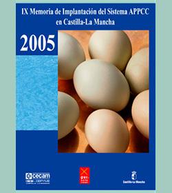IX Memoria de Implantación del Sistema APPCC en Castilla-La Mancha