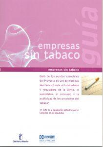 Lee más sobre el artículo Una guía, dipticos y carteles para informar a las empresas de la ley antitabaco