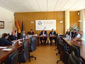 Lee más sobre el artículo Los empresarios del transporte de Castilla-La Mancha eligen nuevo presidente y analizan la situación del sector