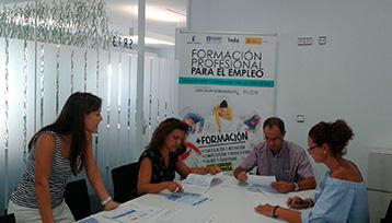 Charla informativa sobre Formación Profesional para el Empleo en Albacete