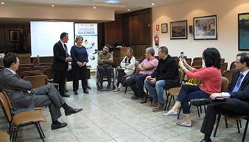 Charla informativa sobre Formación Profesional para el Empleo en Alovera (Guadalajara)