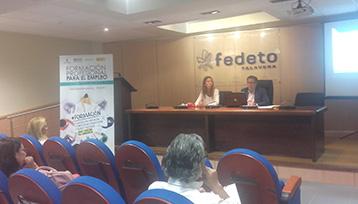 Encuentro informativo sobre Formación Profesional para el Empleo en Talavera de la Reina (Toledo)