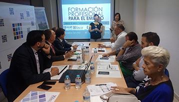 Charla informativa sobre Formación Profesional para el Empleo en Ciudad Real