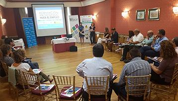 Charla informativa realizada sobre Formación Profesional para el Empleo en Ciudad Real