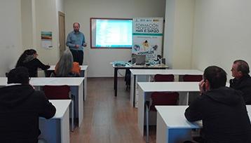 Taller Formación Profesional para el Empleo realizado en Molina de Aragón (Guadalajara)