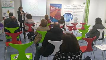 Charla informativa sobre Formación Profesional para el Empleo en Madridejos (Toledo)