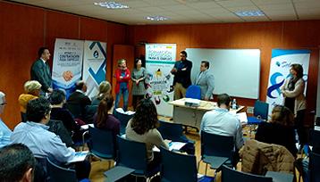 Charla informativa sobre Formación Profesional para el Empleo realizada en Tomelloso (Ciudad Real)