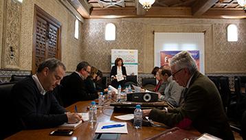 Charla informativa sobre Formación Profesional para el Empleo realizada en Toledo