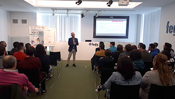 Encuentro Formación Profesional para el Empleo realizada en Albacete