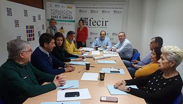 Charla informativa sobre Formación Profesional para el Empleo realizada en Ciudad Real