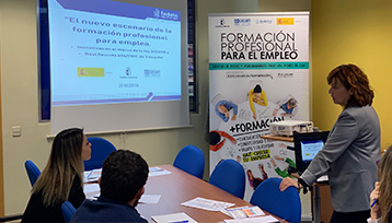 Encuentro Formación Profesional para el Empleo realizado en Toledo