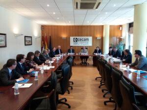 CECAM aprueba un documento con las propuestas empresariales para el crecimiento económico de C-LM