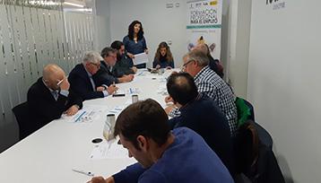 Charla informativa sobre Formación Profesional para el Empleo realizada en Albacete