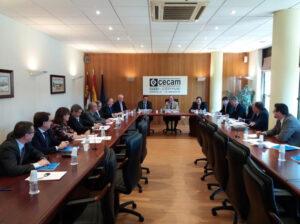 Reunión Junta Directiva de CECAM