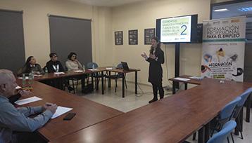 Encuentro Formación Profesional para el Empleo realizado en Cuenca
