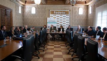 Encuentro informativo sobre Formación Profesional para el Empleo realizado en Toledo