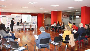 Charla informativa sobre formación profesional para el empleo realizada en Guadalajara
