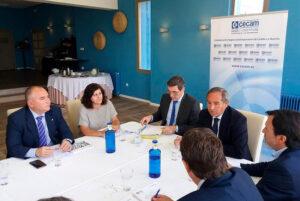 La Junta Directiva de CECAM analiza con gran preocupación la situación económica actual