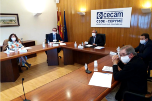 El presidente de CECAM pone en valor el papel desempeñado por las organizaciones empresariales durante la crisis