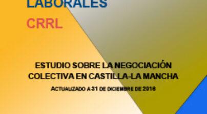 Estudio sobre la negociación colectiva en Castilla-La Mancha