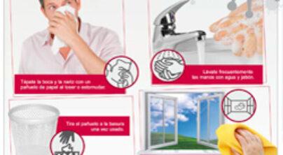 Buenas Prácticas para prevenir la Gripe «A» en las Empresas