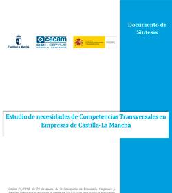 Estudio de necesidades de Competencias Transversales en Empresas de Castilla-La Mancha. Nº de Expediente PE/2018/02