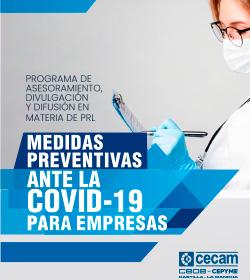 Medidas preventivas ante la covid-19 para empresas