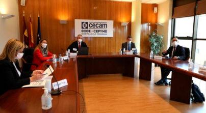 Reunión de trabajo de CECAM con el líder de Ciudadanos en Europa, Luis Garicano