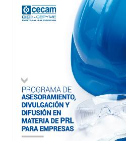 Programa de Asesoramiento, divulgación y difusión en materia de PRL para empresas