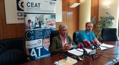 CEAT C-LM espera continuar con un diálogo fluido con el Gobierno para impulsar el autoempleo en nuestra región