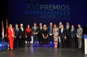 CECAM ensalza el papel fundamental de los empresarios en sus XVI Premios Empresariales CECAM