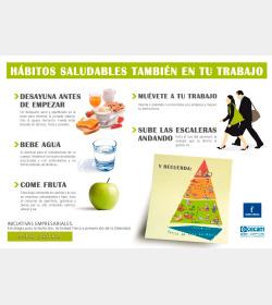 Hábitos Saludables también en tu Trabajo