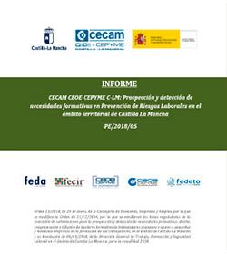 Prospección y detección de necesidades formativas en Prevención de Riesgos Laborales en el ámbito territorial de Castilla-La Mancha. N.º de Expediente PE/2018/05