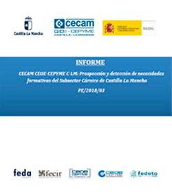 Lee más sobre el artículo Prospección y detección de necesidades formativas del Subsector Cárnico de Castilla-La Mancha. N.º de Expediente PE/2018/03