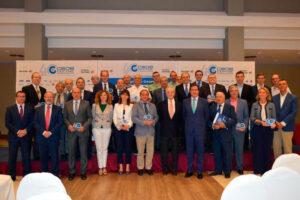 CEOE-CEPYME Guadalajara reconoce la labor de CECAM y de su Secretario General