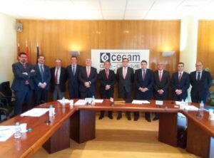 El Comité Ejecutivo de CECAM analiza con el Presidente de CEOE las preocupaciones del sector empresarial de Castilla-La Mancha