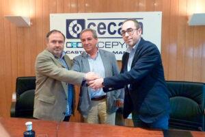 CECAM, CCOO y UGT suscriben un Acuerdo de Diálogo Social para impulsar la negociación colectiva en C-LM