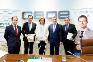 El Presidente de CECAM, Ángel Nicolás, participa en la presentación del Boletín trimestral de Empleo de las Pymes CEPYME-Randstad