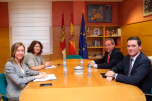 CECAM se reúne con la Directora General de Relaciones Institucionales y Asuntos Europeos para establecer canales de colaboración