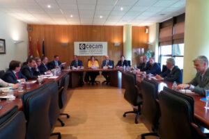 La Consejera de Economía ha participado en la Junta Directiva de CECAM