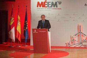 Diez empresas de Castilla-La Mancha recibieron el Premio al Mérito Empresarial