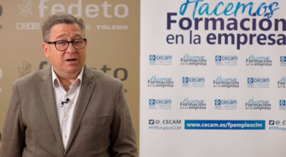 """FEDETO CEOE CEPYME TOLEDO. """"HACEMOS FORMACIÓN EN LA EMPRESA""""."""