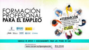 CECAM ha asesorado a más de 300 empresas castellano-manchegas sobre la Formación Profesional para el Empleo