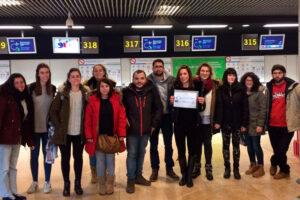 47 jóvenes castellano manchegos comienzan sus prácticas laborales en Europa, dentro del Programa de Movilidad Europea de CECAM