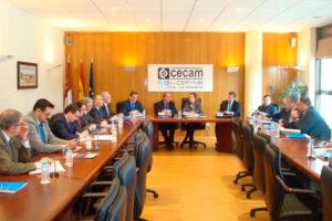 La Junta Directiva de CECAM traslada a la Secretaria Gral de CEOE las preocupaciones de los empresarios de CLM