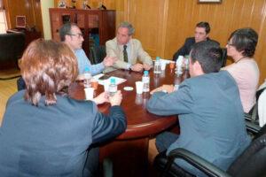 El Presidente de CECAM se reúne con el Secretario General de CC.OO. CLM