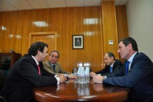 El Presidente de CEOE CEPYME Cuenca mantiene su primer encuentro con el Presidente de CECAM