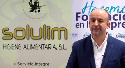 """Solulim Higiene Alimentaria, S.L. """"Hacemos formación en la empresa""""."""