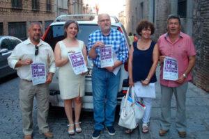 Más de 500 taxis de la región se unen a la campaña de sensibilización en contra de la violencia de género